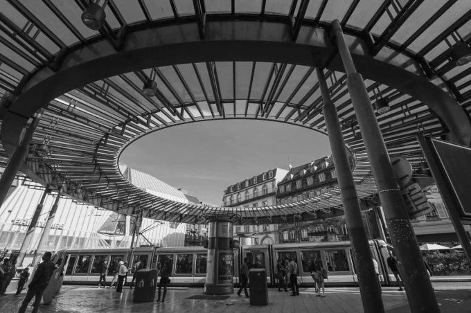 Straatsburg in september